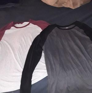 Lot of 2 baseball tshirts